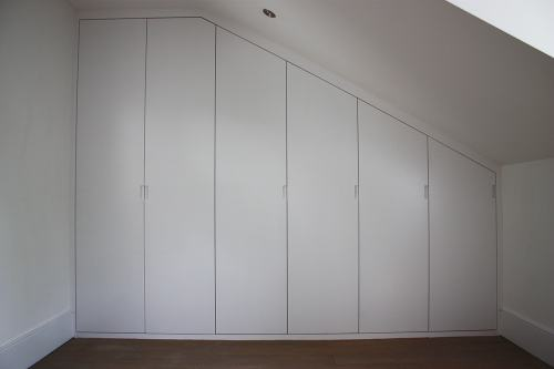 sloping roof wardrobe