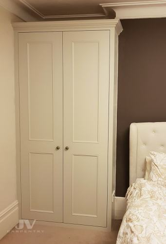 traditional alcove wardrobe east London LHS