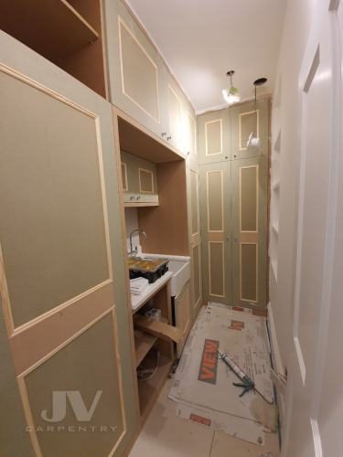 Utility cupboards with sink