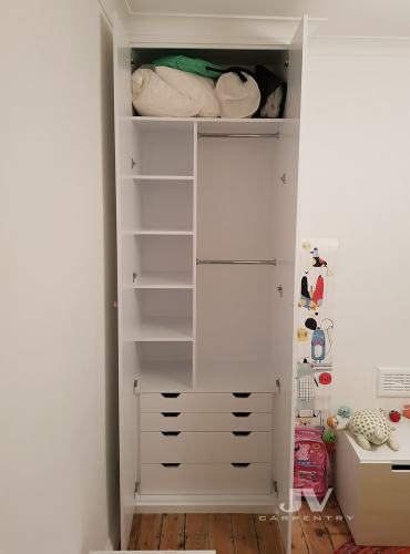 wardrobe interior layout