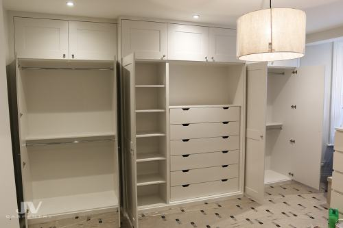 built in wardrobe interior ideas