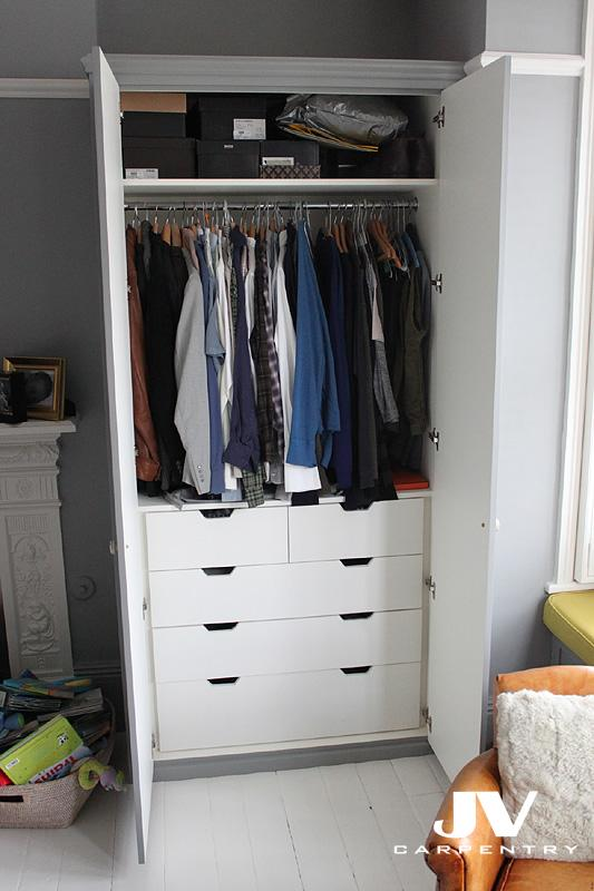 Gentil ... Idea How To Maximise The Space By Adding Shelving And Hanging Space,  Drawers, Shoe Racks, Pull Out Shelves And Even Lights Inside Your Fitted  Wardrobes.