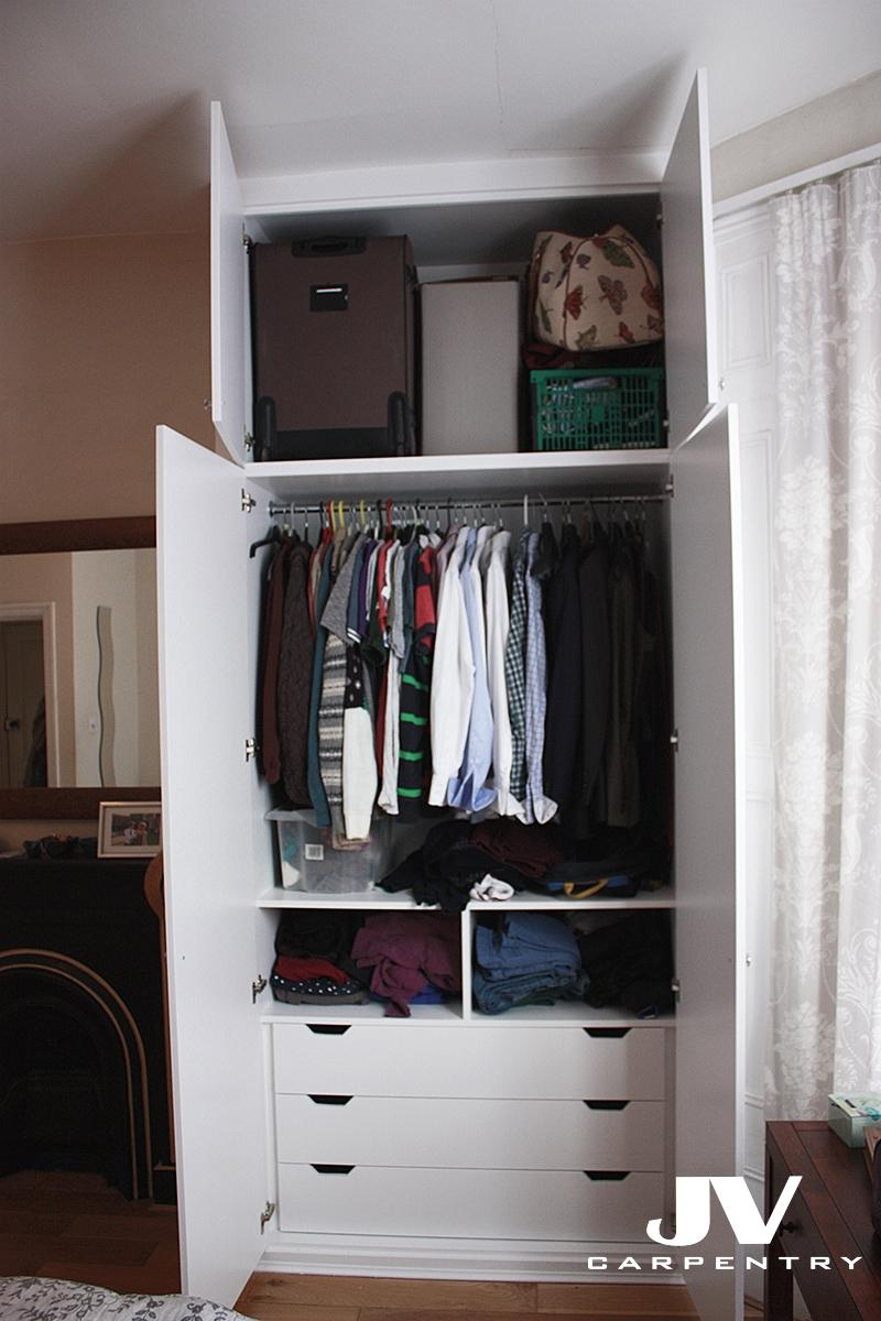 Attirant ... Idea How To Maximise The Space By Adding Shelving And Hanging Space,  Drawers, Shoe Racks, Pull Out Shelves And Even Lights Inside Your Fitted  Wardrobes.